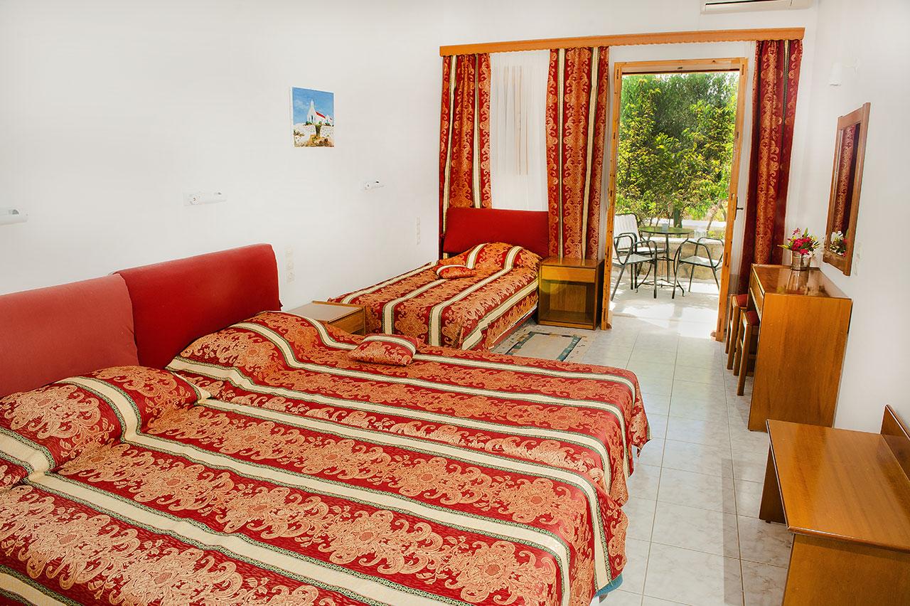 Garden View Room Charissi Hotel In Mykonos Island
